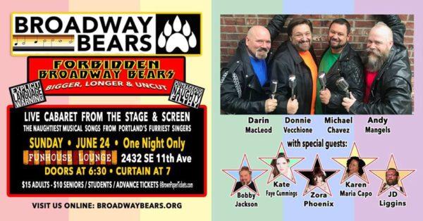 "Concert ""Forbidden Broadway Bears: Bigger, Longer & Uncut"""