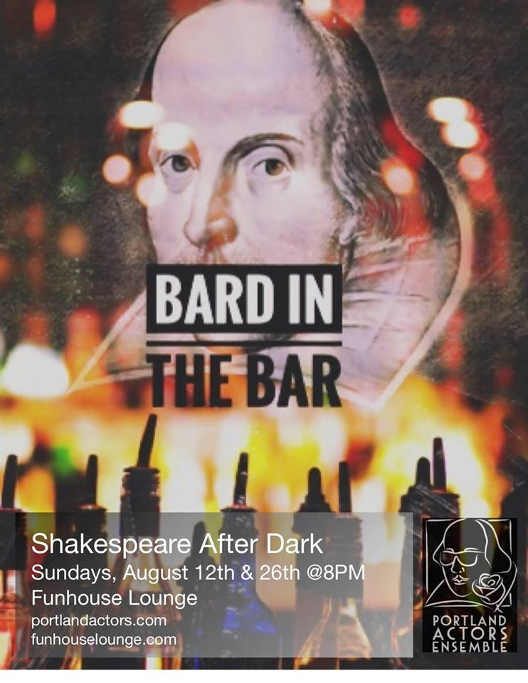 The Bard in the Bar: Shakespeare After Dark