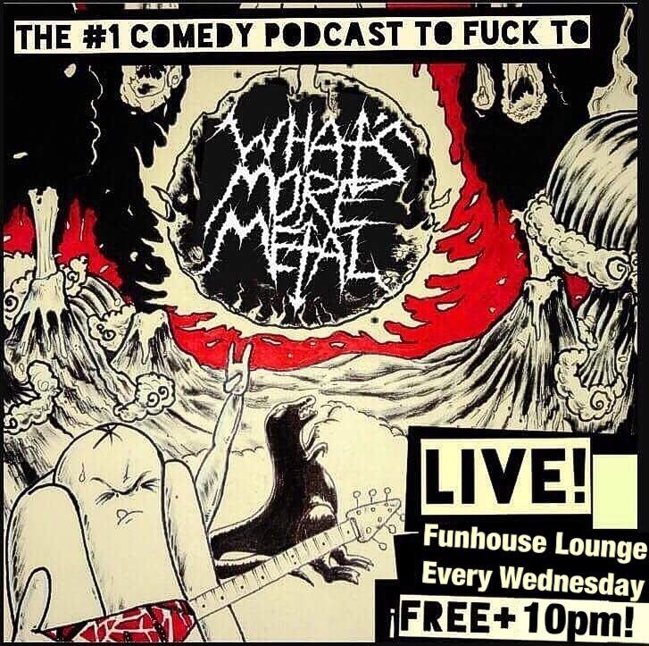Live at the Funhouse Lounge! Metal Podcast