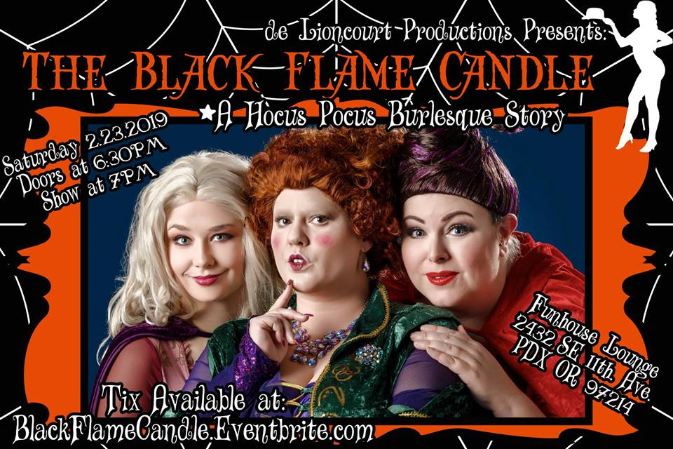 The Black Flame Candle: A Hocus Pocus Burlesque Story