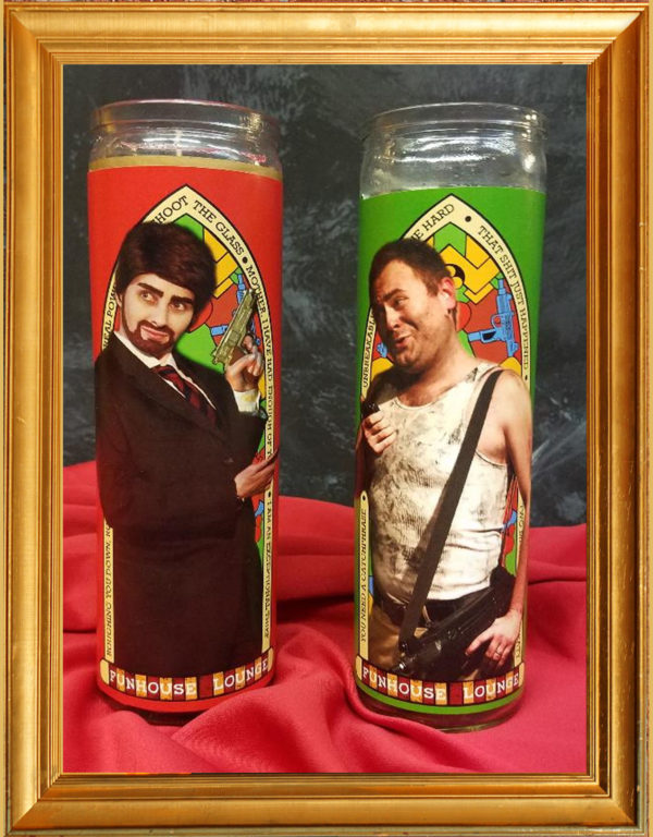 Die Hard Prayer Candles