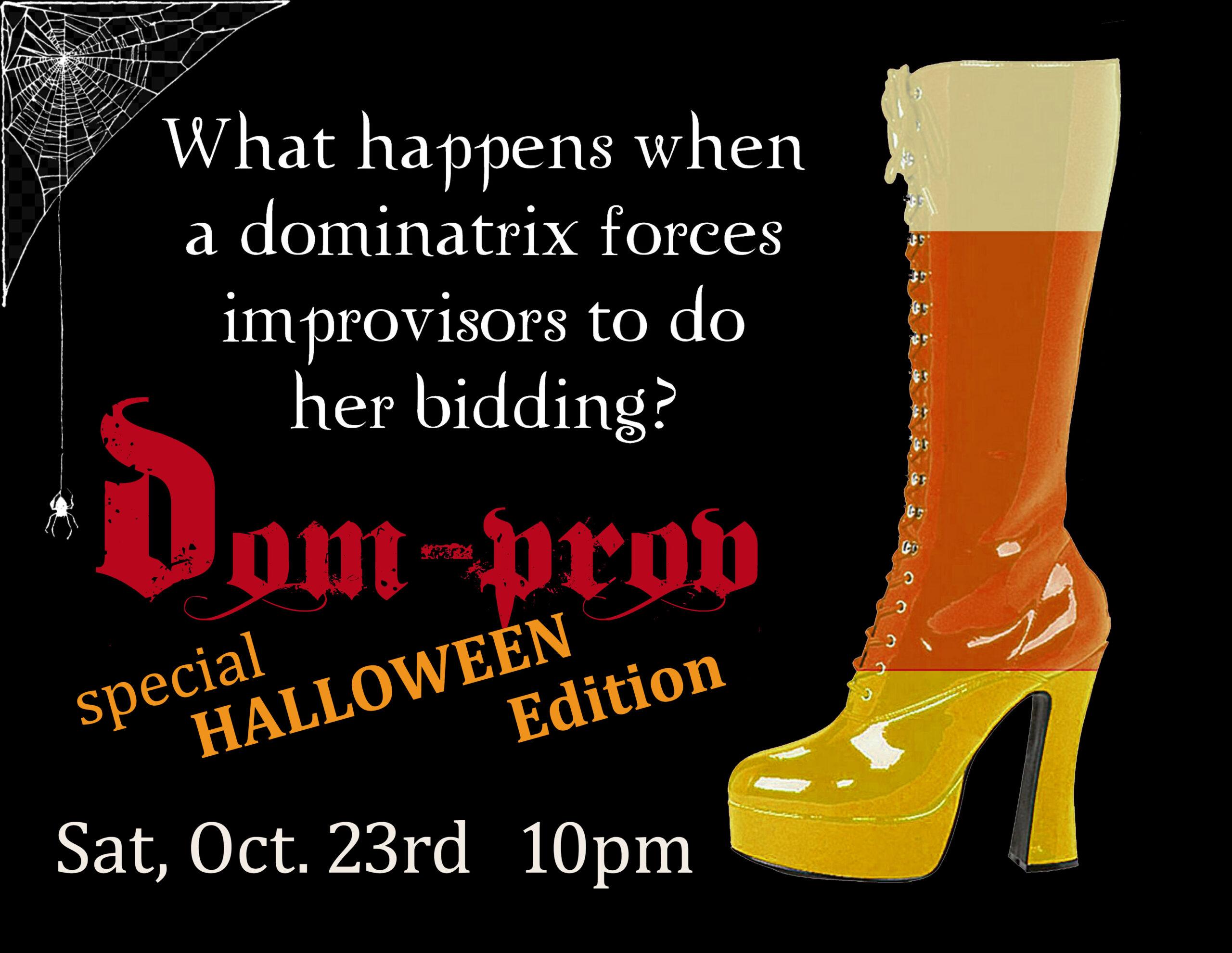 Domprov–Halloween Edition!